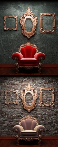 dark furnishings definition picture