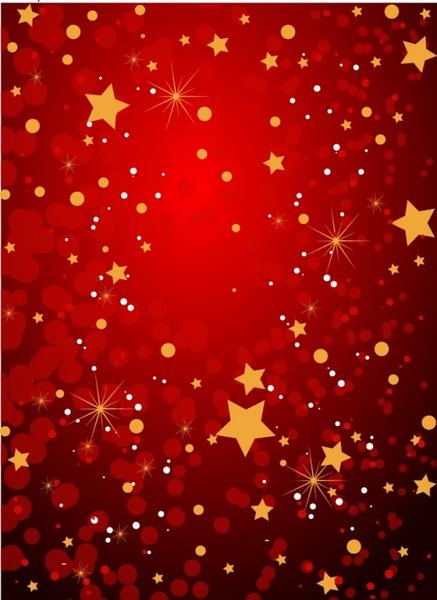 dark red grunge background with stars