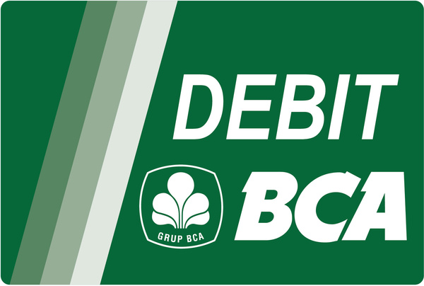 debit bca green