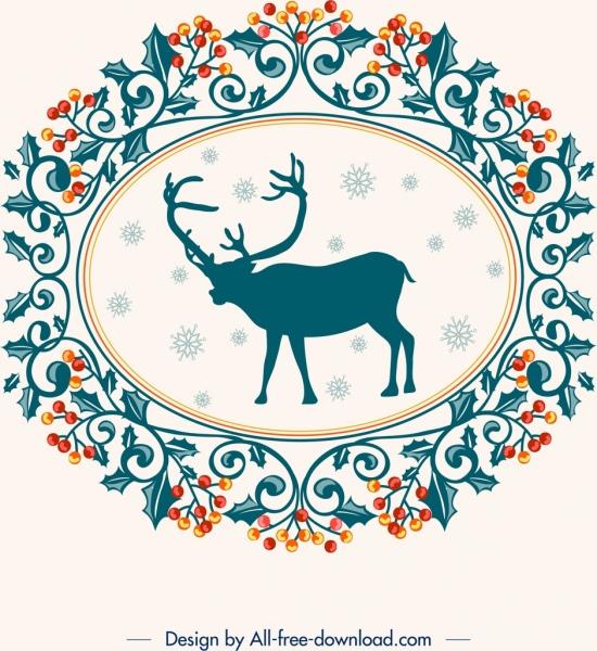 decorative background christmas theme elegant classical decor