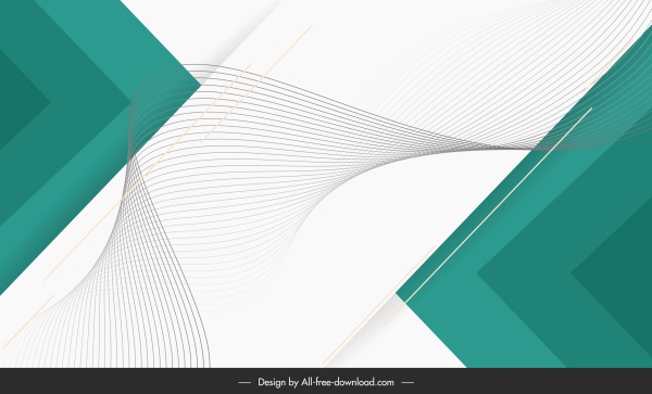 decorative background template dynamic curves geometry sketch