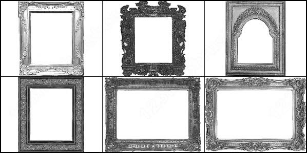 decorative frames brush