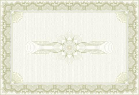 decorative pattern certificate backgrounds vector