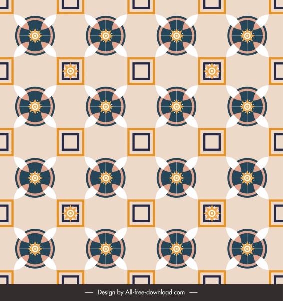 decorative pattern classical repeating symmetrical eastern decor