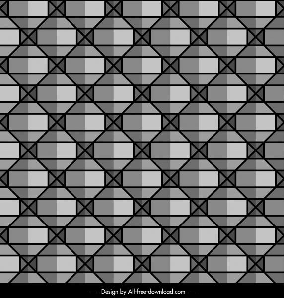 decorative pattern illusive seamless symmetric decor