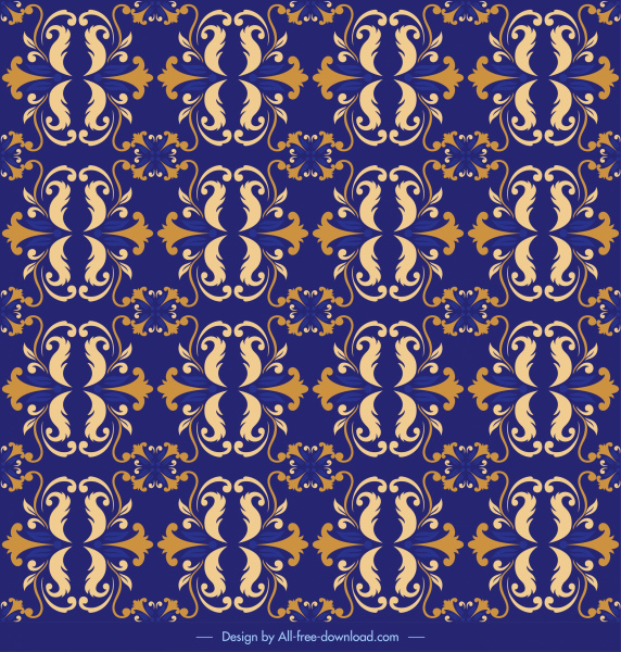 decorative pattern template elegant repeating symmetrical repeating decor