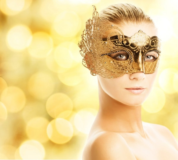 definition picture of a woman wearing a mask 2