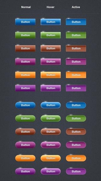 delicate web button icon psd layered