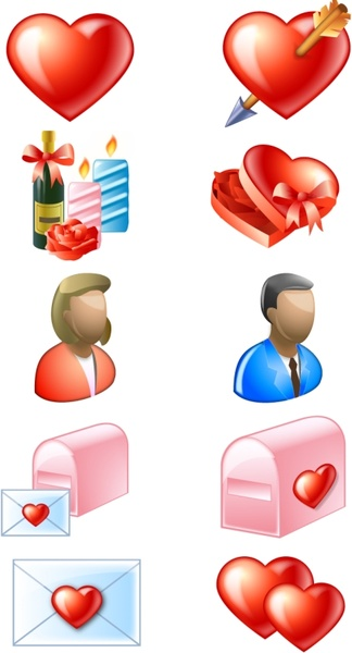 Delicious Love Icons icons pack