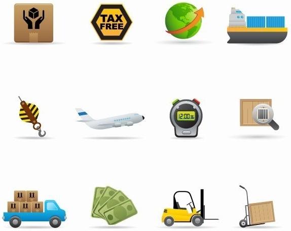 Delivery Icon Vector Set