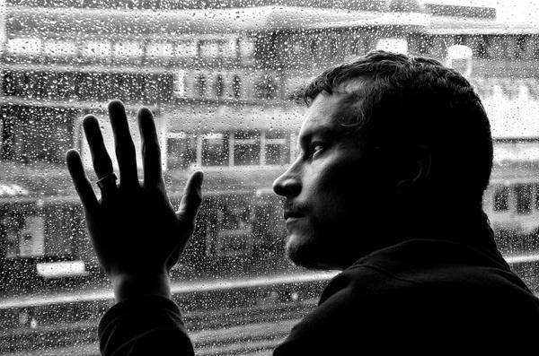 depression loneliness man