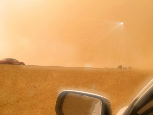 desert guiding light
