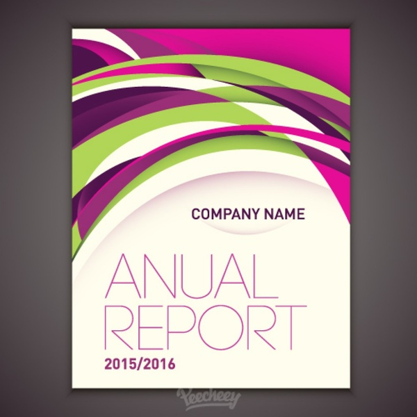 report cover pages templates