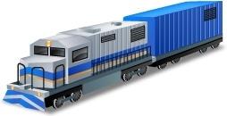 DieselLocomotive Boxcar