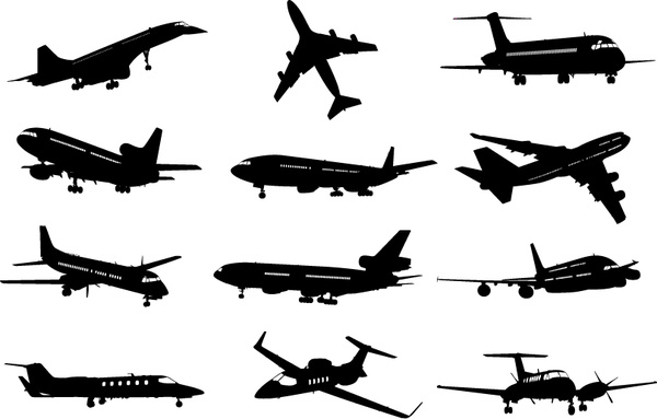 Vector Airplane Free Vector Download 376 Free Vector For