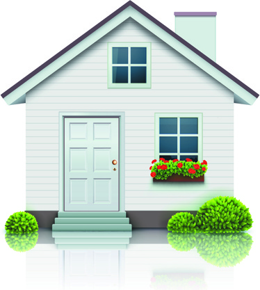 Different Houses Design Elements Vector Free Vector In
