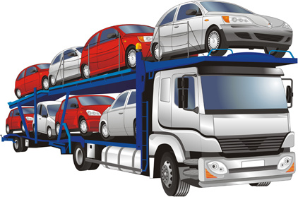 different of trucks vector illustration