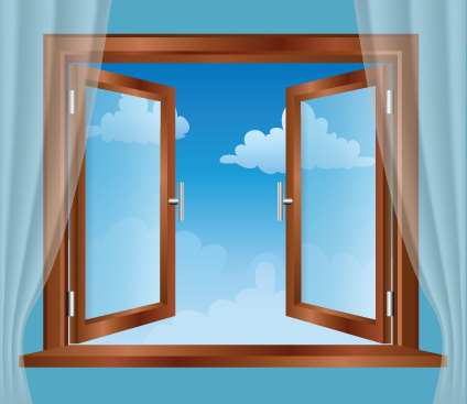 different plastic window design elements vector