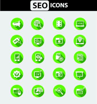 different web icon set