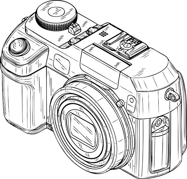 Digital Camera Clip Art Free Vector In Open Office Drawing Svg
