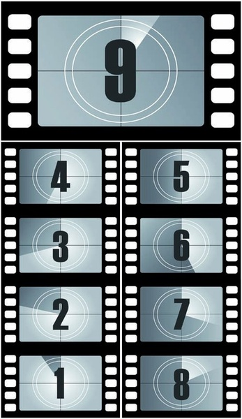 Film Countdown: Film Free Vector Download (465 Free Vector) For Commercial