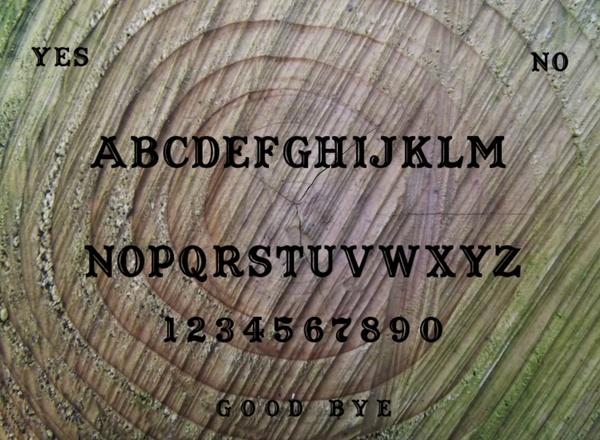 Digital Designed Ouija Board