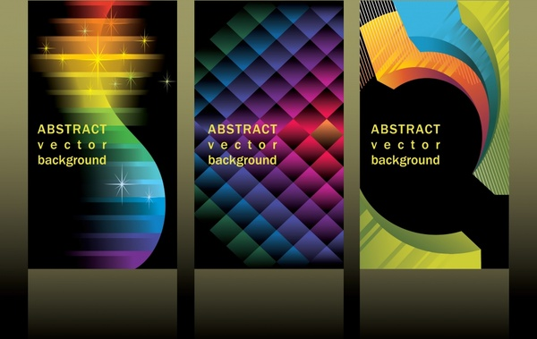 abstract background templates sparkling colorful modern design