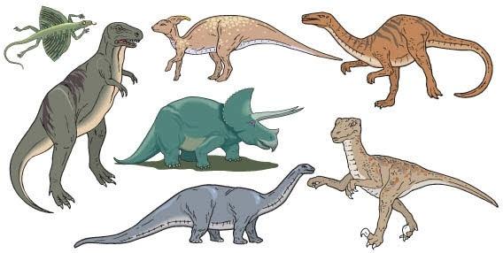 dinosaurs vector free vector in coreldraw cdr ( .cdr ) vector