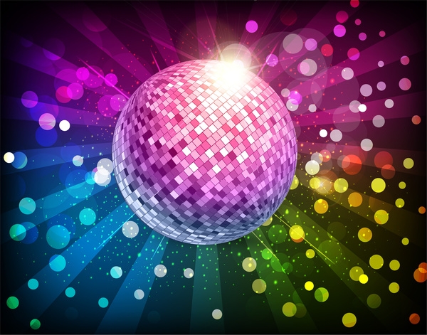 Disco Ball Illustration Free Vector In Adobe Illustrator Ai