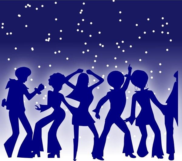 Disco Dancer Clipart
