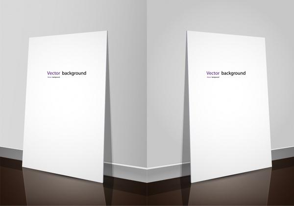 exhibition display boards template elegant 3d sketch