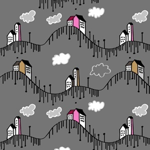 Doodled PS free patterns: evenin