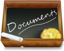 Dossier ardoise documents