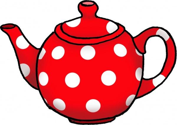 dotty tea pot