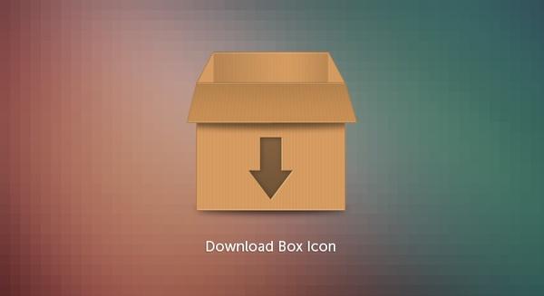 Download Box Icon