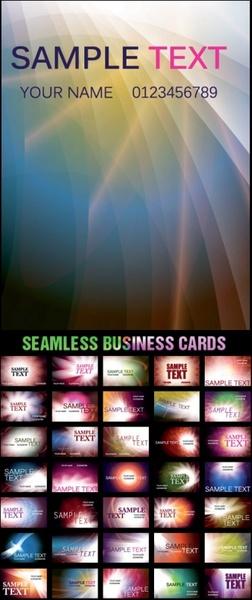 dream glare background card template vector
