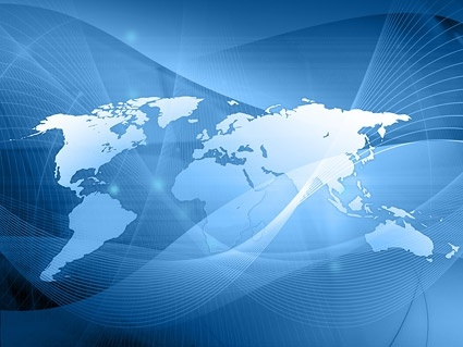 dream world map stock photo