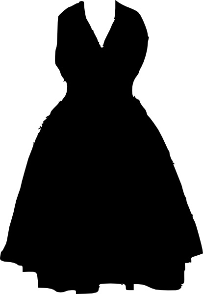 Dress Clip Art Free Vector In Open Office Drawing Svg