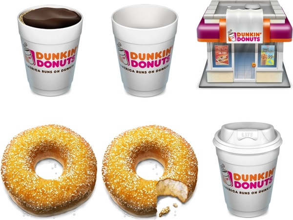 Drinking coffee icons icons pack