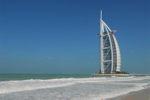 dubai beach sea
