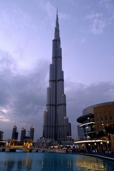dubai burj kalifa city