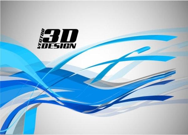 dynamic 3d elements 05 vector