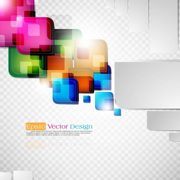 dynamic colorful abstract elements 03 vector