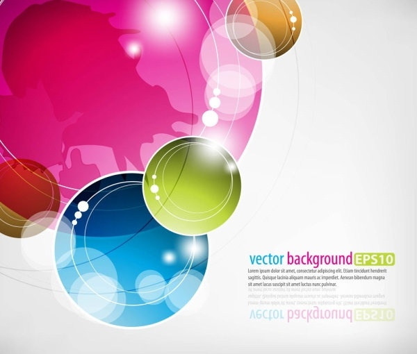 dynamic colorful abstract elements 05 vector