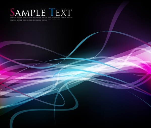 abstract background colorful dynamic lights effect decor