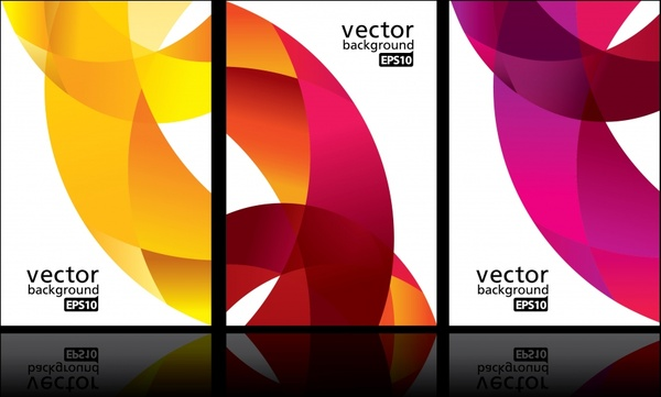 decorative background templates colored modern dynamic abstraction