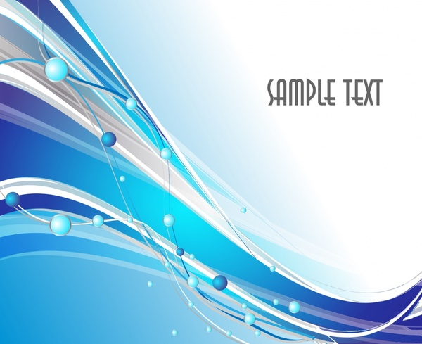 abstract background dynamic colored swirled circles decor