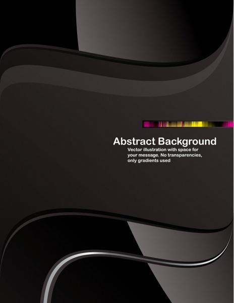 abstract background modern elegant luxury black decor