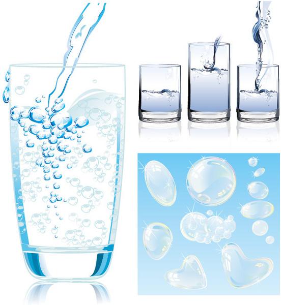 dynamic water vector art