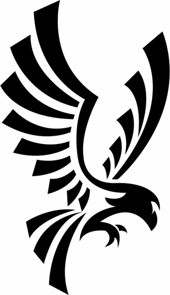 Eagle Symbol Free Vector In Adobe Illustrator Ai Format For